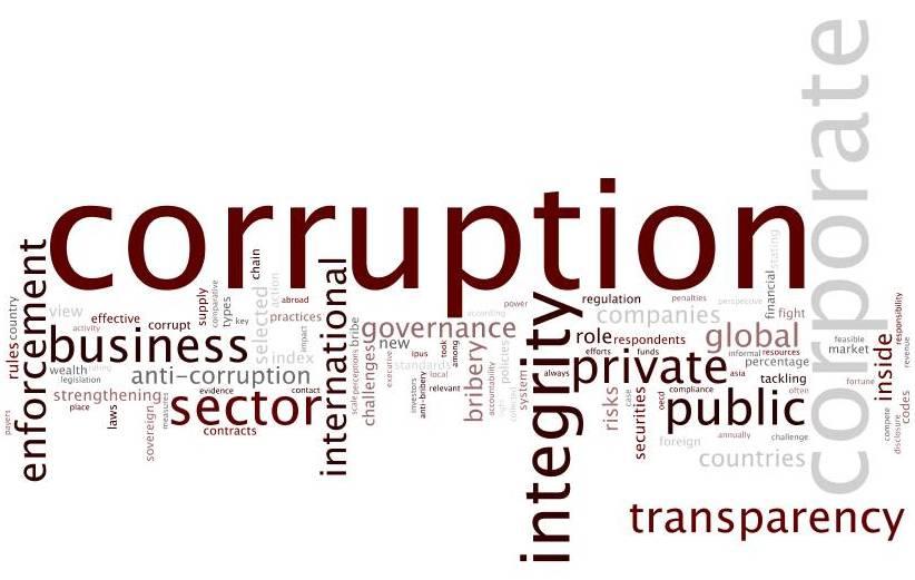 media reports on corruption