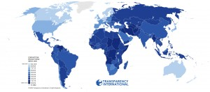 Global Map - Individual Countries of the World