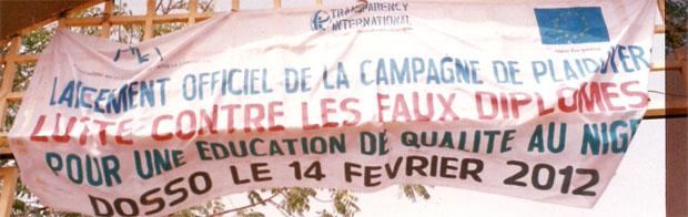 Niger fait campagne contre les faux enseignants, la corruption dans les écoles