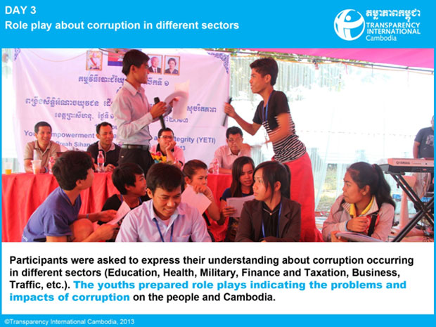 role of a youth against corruption essay The war against graft (political corruption) has reached the point where the shame and social sanctions directed against this kind of theft and thief need to be given greater prominence in the.