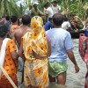Image of cyclone victims