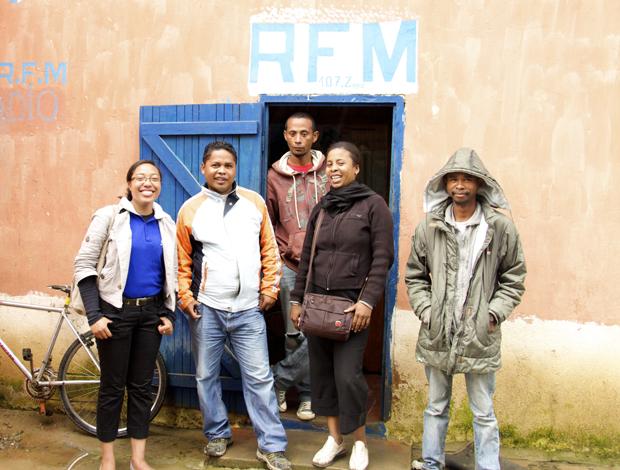 Le « CAJAC en direct » travaille en collaboration avec une radio locale