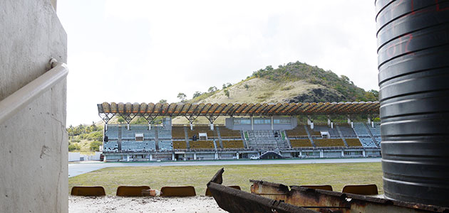 Image of sSt Lucia stadium