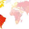 Corruption perceptions index 2015 americas