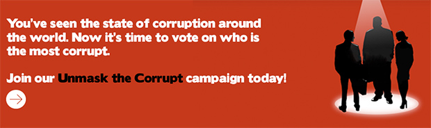 unmask the corrupt campaign transparency itnernational