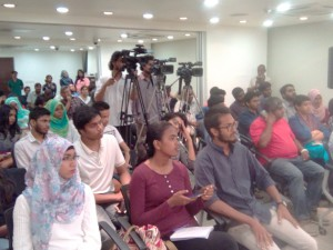 TI Maldives panel event. Photo: Lucas Jaleel @Lucasjalyl